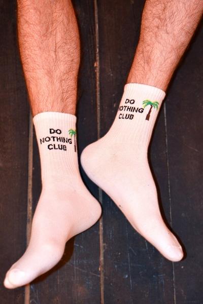 Do Nothing Club Desenli Atletik Erkek Çorap