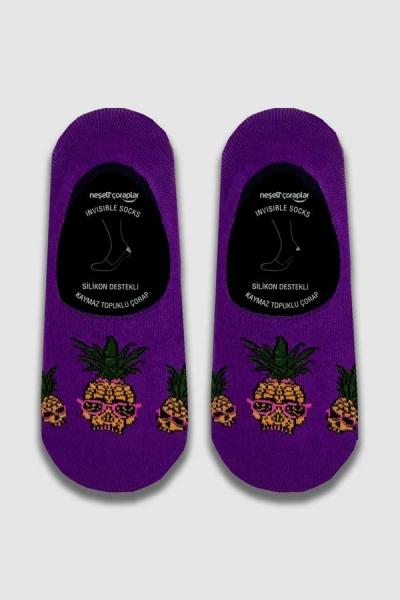 Cool Ananas Babet Erkek Çorap