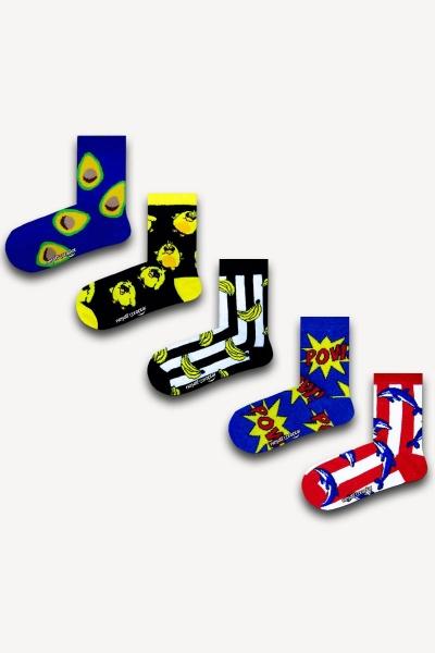 Renkli Çocuk Çorap Seti 1