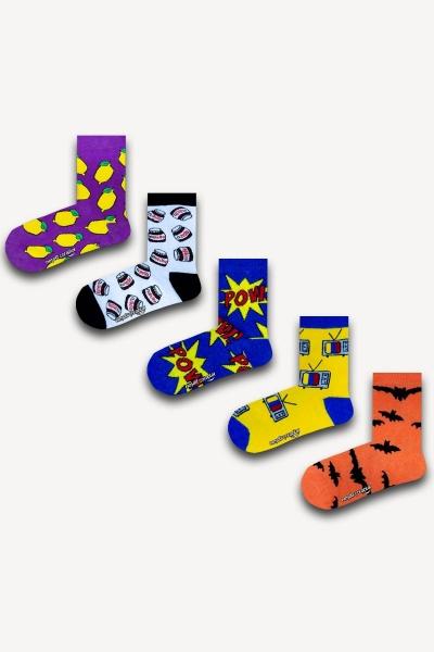Renkli Çocuk Çorap Seti 2